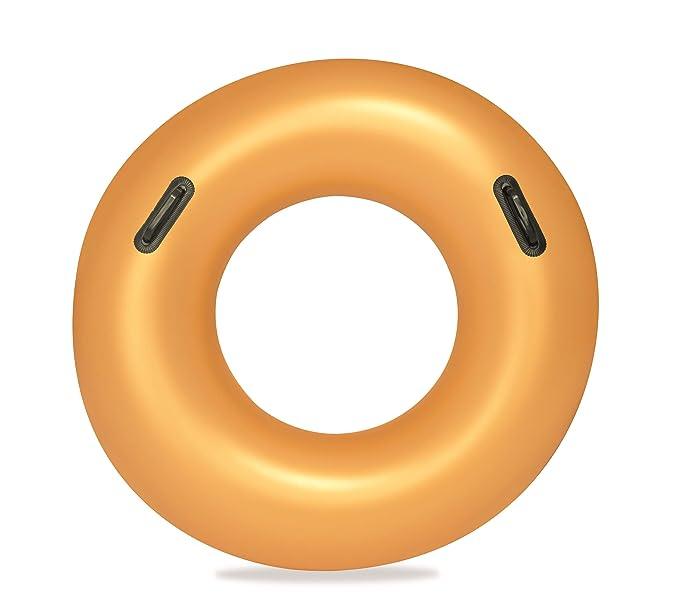 Amazon.com: Bestway - Flotador hinchable dorado para piscina ...