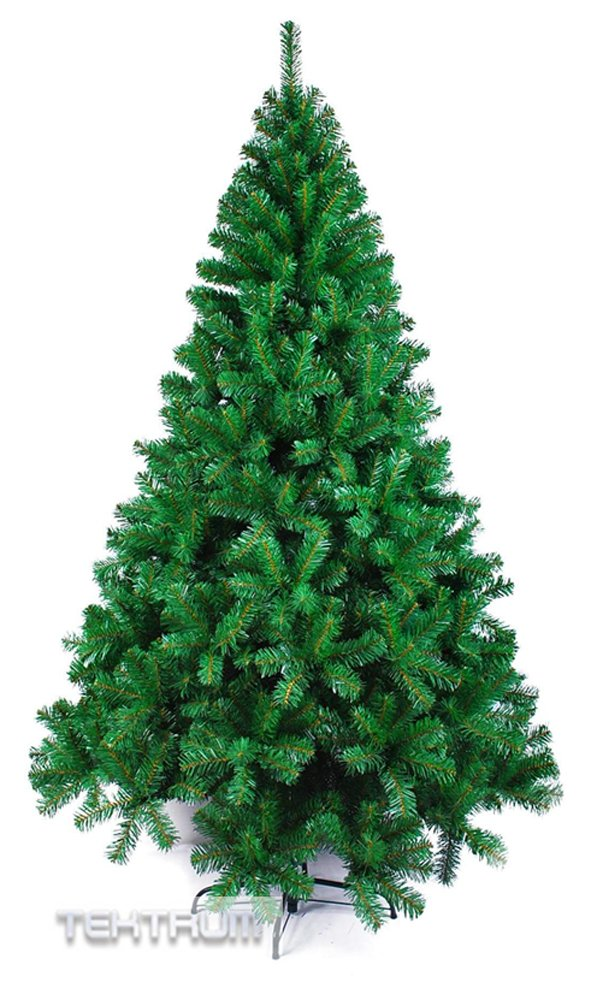 Tektrum 7-Feet Artificial Christmas Tree with Solid Metal Stand for Christmas/Holiday/Party (TD-SYCT-1601G-17) by Tektrum