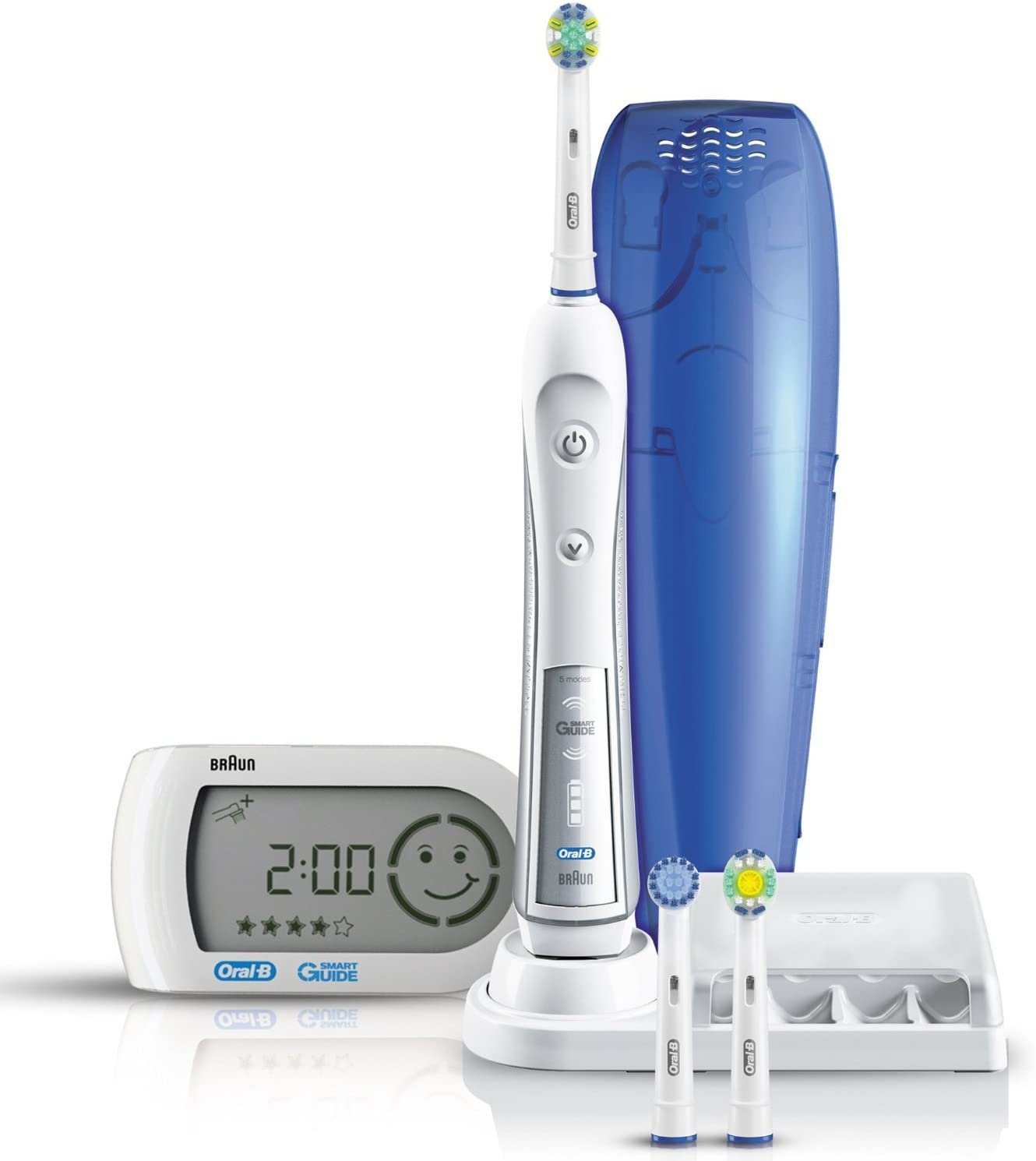 Braun Oral B Triumph 5000 Five Mode Power Toothbrush with
