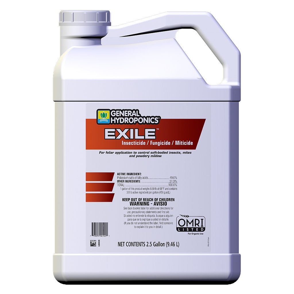 GH Exile Insecticide / Fungicide / Miticide 2.5 Gallon (2/Cs) by General Hydroponics