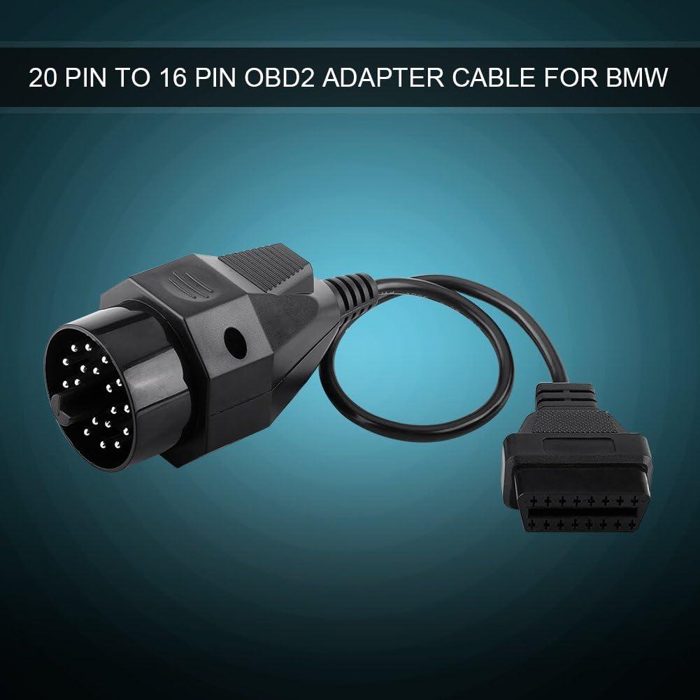 Kabelstecker Runddiagnose Obd2 Adapter Scanner Kabelstecker Obd Ii Adapter 20 Pin Auf 16 Pin Auto
