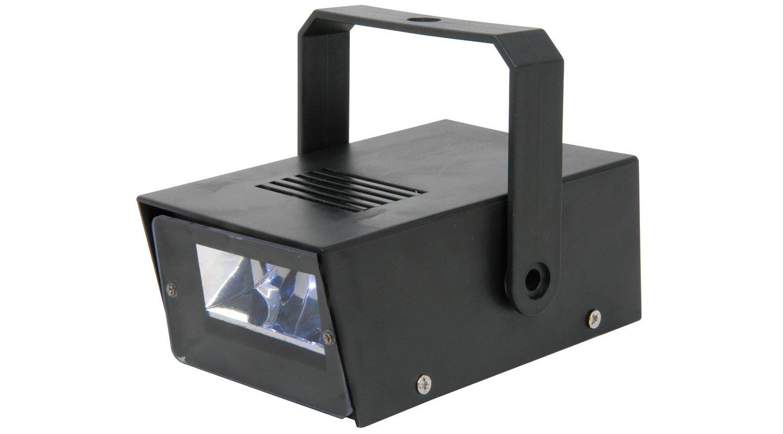 STROBE LIGHT (MINI - LED) / PLASTIC CASE - BATTERY OPERATED QTX 152.936