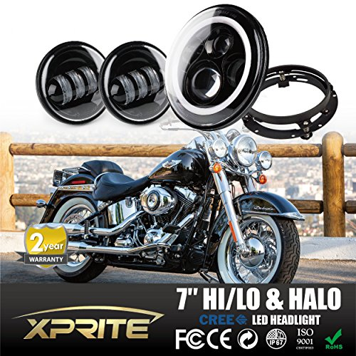 Xprite Headlights Mounting Davidson Motorcycle product image