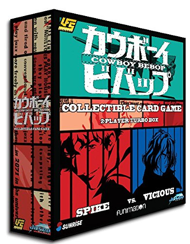 Jasco Games Cowboy Bebop CCG-2 Player Starter Game 2, Multi