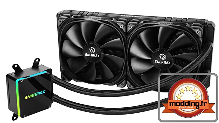 Enermax ELC-LTTRTO280-TBP Liqtech 280 TR4 II RGB Water Cooling Kits, Systems and AIOs