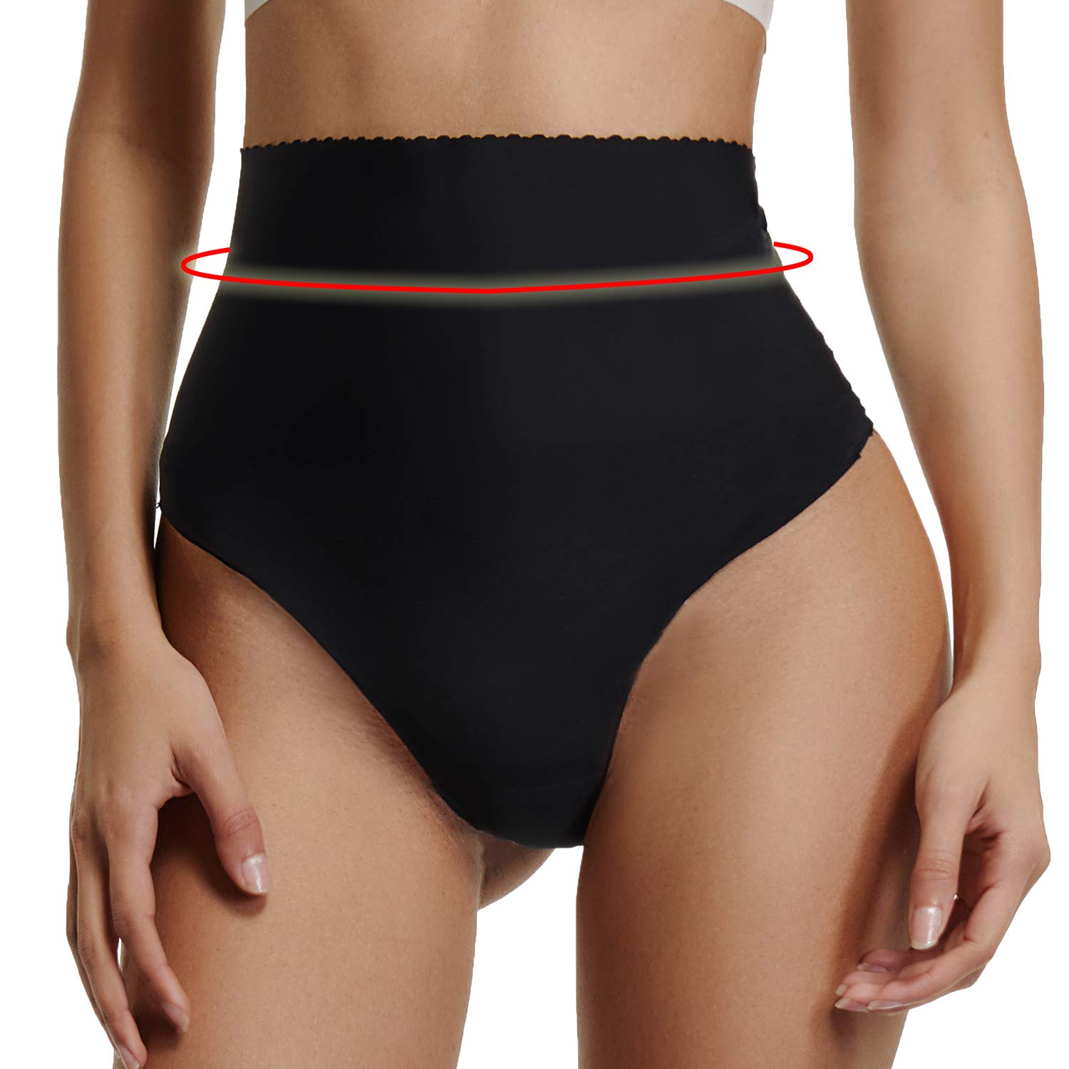 a2371392f25f5 ✅Seamless   Keep Slim✅ -- Body shaper with thong gives a smooth and fitted  body shape and makes you look really slim. Waist shaper thong is  breathable