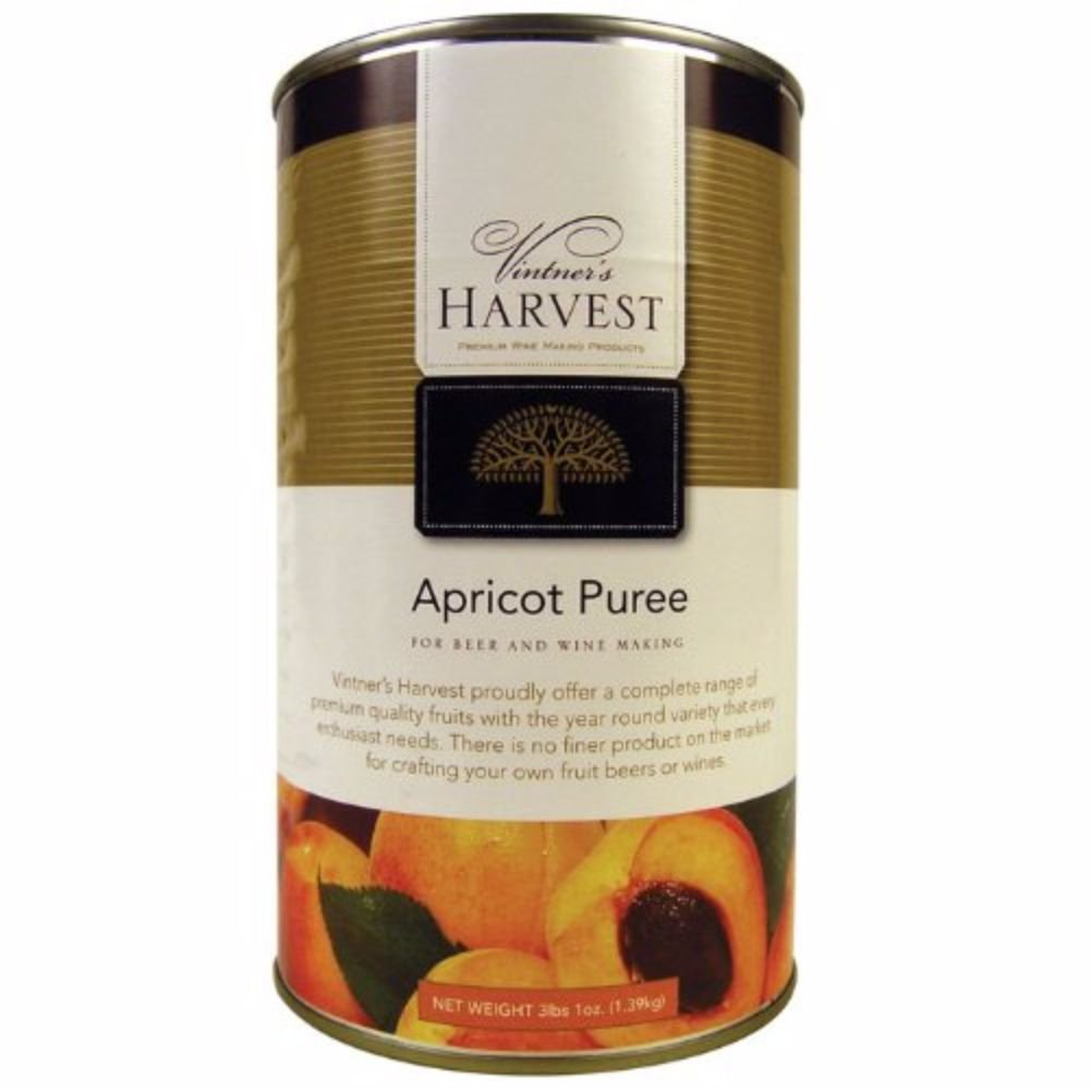 Vintners Harvest Apricot puree 49 oz Can