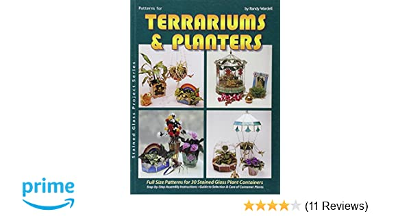 Amazon Com Terrariums And Planters 30 Stained Glass Projects