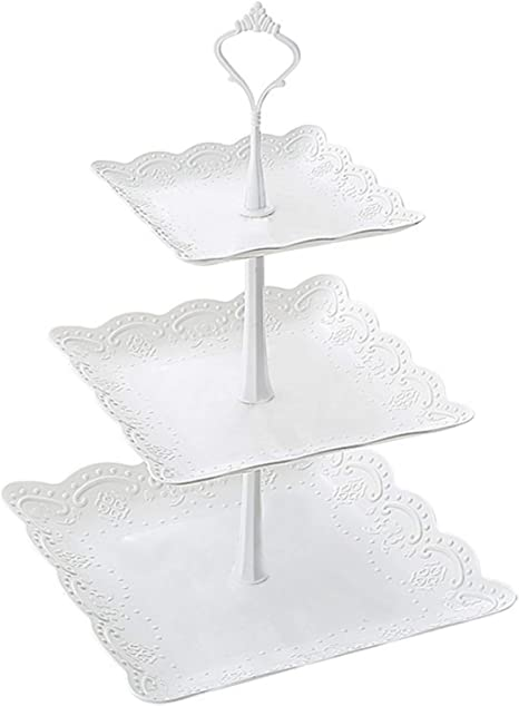 Fruit Dessert Plate Tray Cake Stand Rack Holder Tower Cupcake Wedding Display