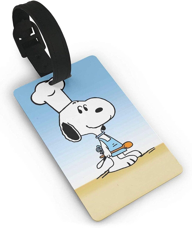 SNO-Opy Etiqueta de equipaje maleta titular de la tarjeta de visita documentos de viaje personalizados etiqueta de equipaje PVC 5,4 cm x 8,5 cm
