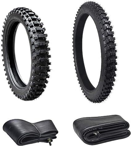 110//90-18 Rear Back 80//100-21 Front Tube Set For Pit Dirt Bike Motorcycle ATV