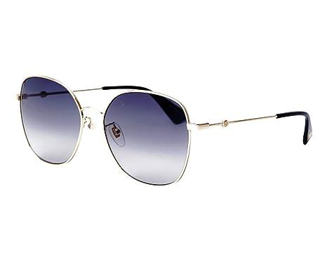 Gucci - Gafas de sol - para mujer Amarillo dorado 59: Amazon ...