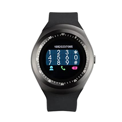 YUNTAB® Y1 Smart Watch Bluetooth Montre de Sport Intelligente 1.54