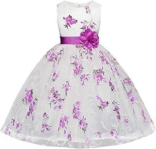 Lee Little Angel Bambina Unicorno Casual Pizzo soffice Abito Top T-Shirt Arcobaleno Gonna 90-140cm 1-9 Anni