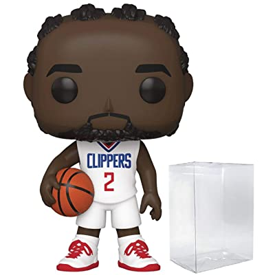 Kawhi Leonard LA Clippers #67 Pop Sports NBA Action Figure (Bundled with Pop Protector to Protect Display Box): Toys & Games