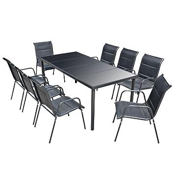 Sitzgarnitur Küche | Festnight 9 Tlg Sitzgruppe Essgruppe Sitzgarnitur Gartengarnitur