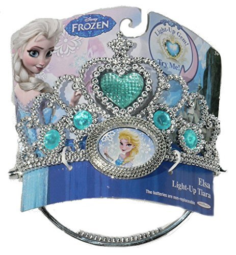 [Disney Frozen Elsa Tiara Light-Up Gem] (Frozen Elsa's Tiara)