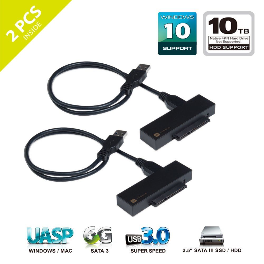 Mediasonic Usb 30 To 25 Inch Sata Ssd And Hard Drive Wiring Diagram Adapter Cable Optimized For Support Uasp 3 60gbps Transfer Rate