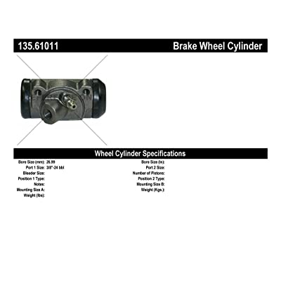 Centric Parts 135.61011 C-Tek Standard Wheel Cylinder: Automotive