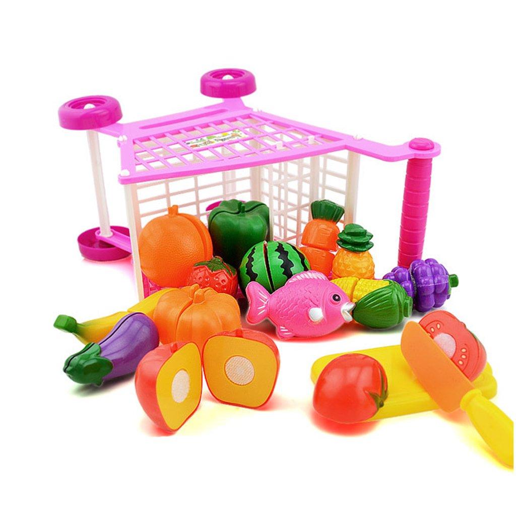 Amazon.com: Jili Online Mini Plastic Children Shopping Hand Trolley Cart for Kids Developmental Pretend Role Play Toy Playset: Toys & Games