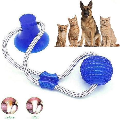 Bola de cuerda duradera para perro con ventosa, multifunción ...