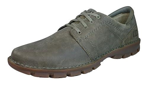 Caterpillar Caden Hombres Zapatos de cuero -Brown-44 tbPYvZ