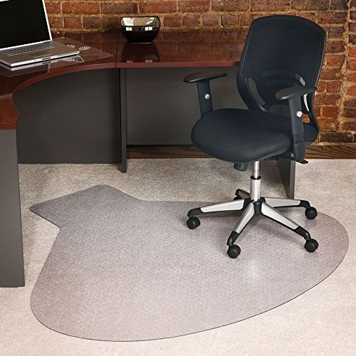 - E S Robbins EverLife Collection Workstation Shaped Chair Mat - 54