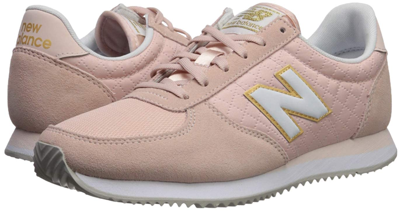 4ad66454993a8 Amazon.com   New Balance Women's 220v1 Sneaker Mineral Rose/White 7 B US    Fashion Sneakers