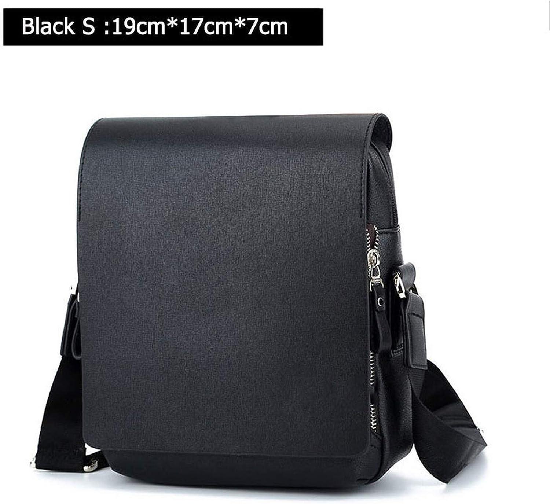 MenS Messenger Bags Pu Leather Shoulder Bag Men Crossbody Bag Business Handbags For Male