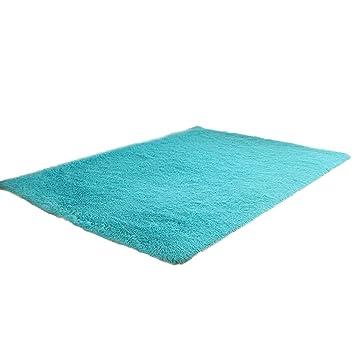 Badematten Set Clode® 80 X 120cm Teppich Modern Wohnzimmer Für Wohnzimmer  Schlafzimmer (Sky Blue)