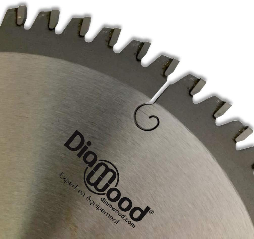300 x 30 x 3,2//2,5 mm Lama per Seghe Circolari Diamwood 96 dentiTCT negativi per alluminio e legno