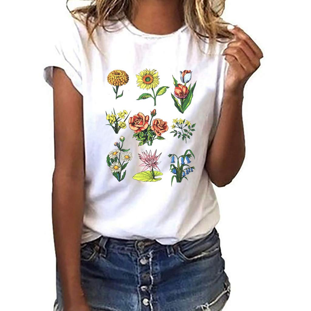 40th Birthday Gifts for Women Workout Clothes for Women Tank Tops for Women Shirts for Women T-Shirts for Women D-White