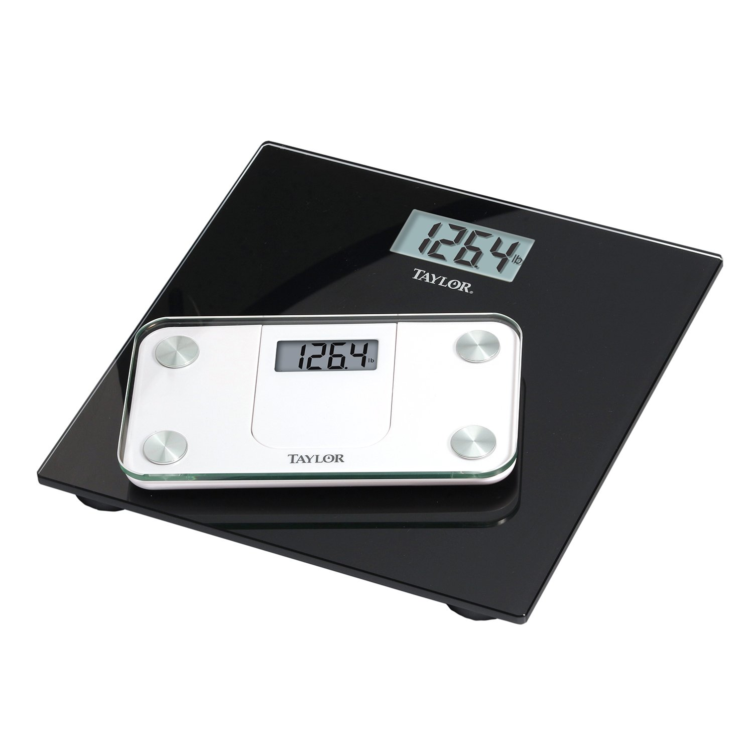 Taylor Precision Products Digital Glass Mini Scale with Expandable Readout Taylor Thermometers 7086