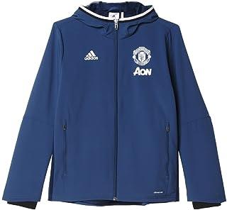adidas MUFC Pre Manchester United FC Y, Felpa Unisex Bambini