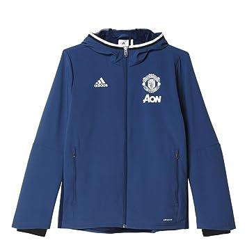 adidas Manchester United Pre Jkt Y Sudadera, Niños: Amazon.es: Deportes y aire libre