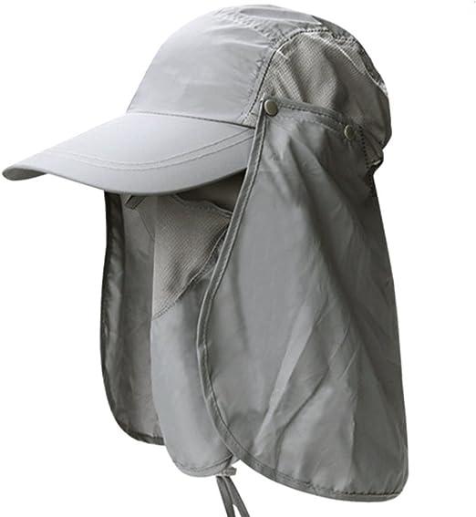 Hosaire 1x Sombreros del Sol Gorro de Pesca de los Hombres para ...