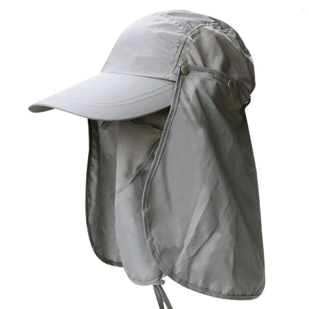64ca4411dd52a Leisial Sombrero Pesca del Sol Gorra al Aire Libre de Protección Solar  Transpirable Cap Sombrero de