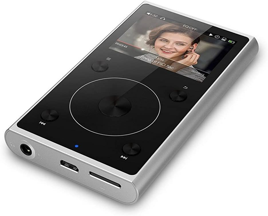 Rose Gold X1II Portable Hi-Res Lossless Audio Player with Bluetooth Support