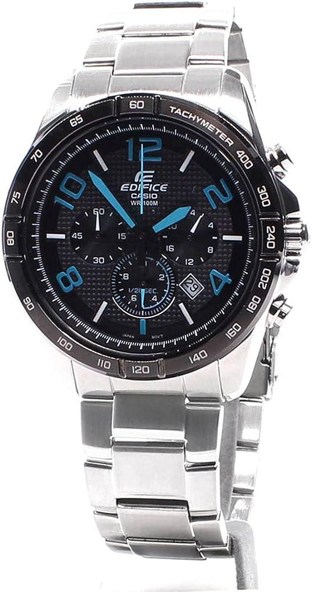 Casio CASIO EFR-516D-1A2 EFR516D-1A2V - Reloj para Hombres, Correa de Acero Inoxidable Color Plateado