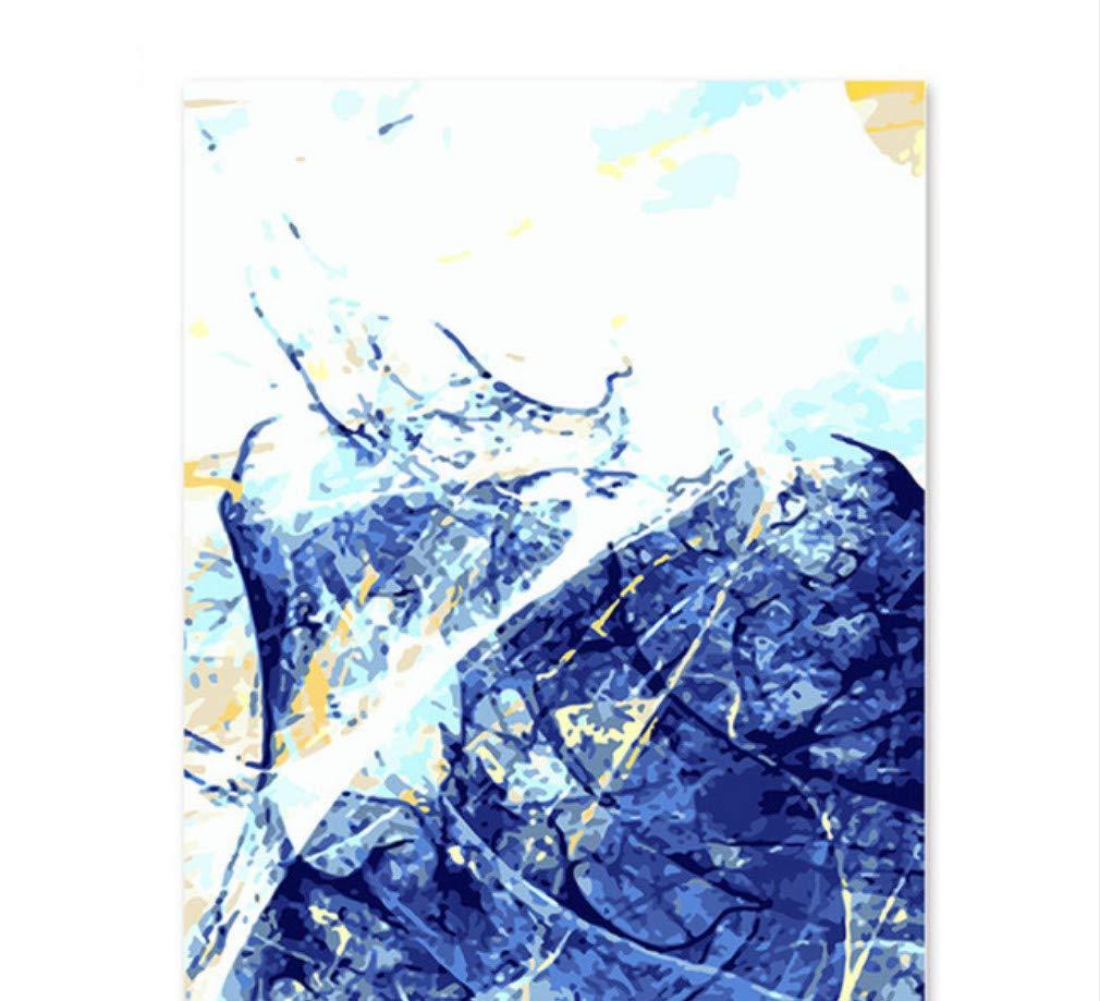 XIGZI DIY Malen Nach Zahlen Ölgemälde Wandbilder Home Decor Dekoration 40X50 cm,Mit Holzrahmen,B B07NZW4F3C | Elegant Und Würdevoll