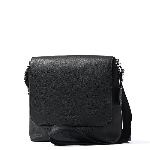 764a61dea2 Amazon.com  Coach Men s Charles Small Messenger Bag Black Leather  Shoes