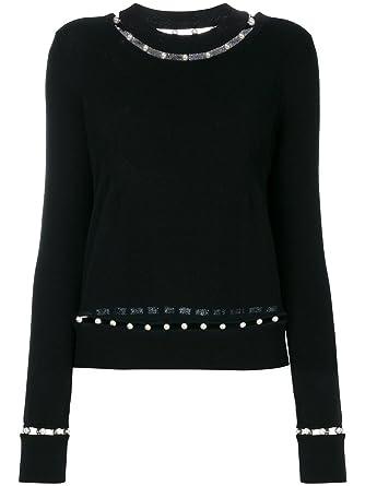 Givenchy Women s 17 X 7825502001 Black Wool Sweater  Amazon.co.uk  Clothing 5d1f57062
