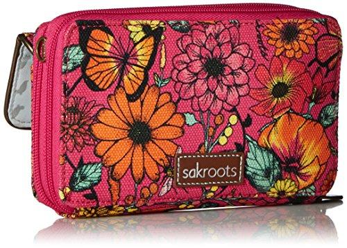 Luna Raspberry Sakroots Bloom Crossbody Smartphone In dwUxU1q