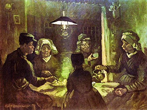 (The Potato Eaters by Vincent Van Gogh - 20