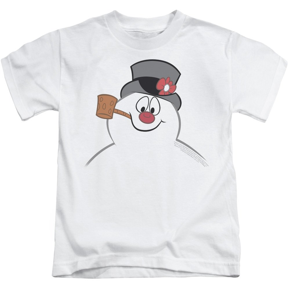5//6 7 Frosty the Snowman Cartoon FROSTY FACE Licensed T-Shirt KIDS Sizes 4