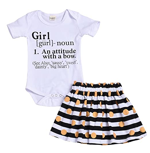 a230648fe Newborn Little Sister Baby Little Girls Skirts Leggings Pants Gifts Outfits  Set (0-3