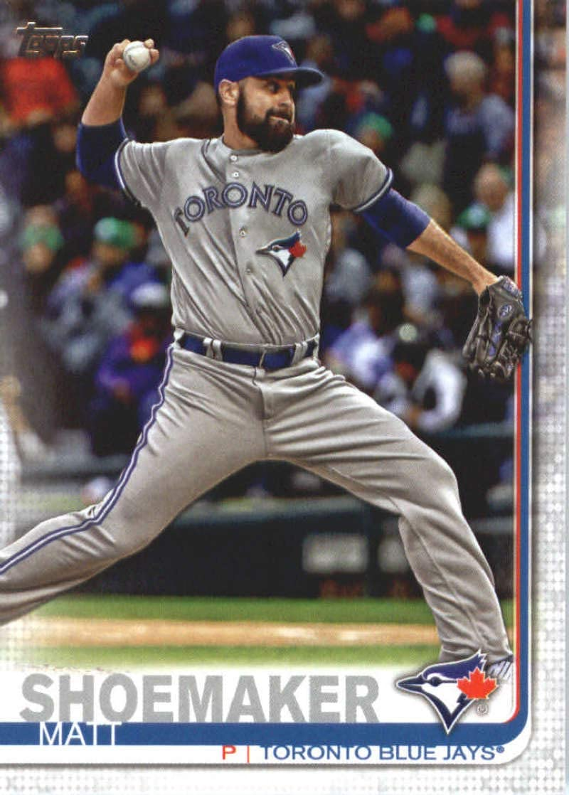 2019 Topps #533 Matt Shoemaker Toronto Blue Jays Baseball Card