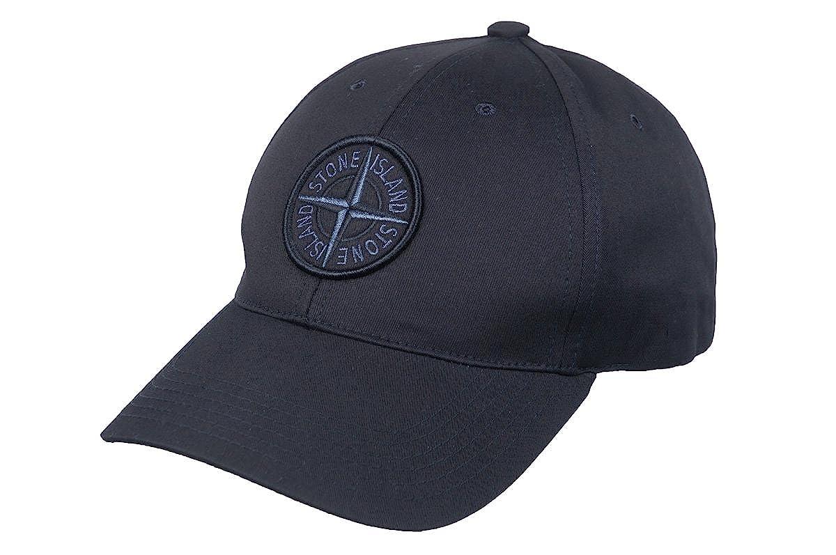 Stone Island Cotton Black Black Compass Logo Men`s Baseball Cap at Amazon  Men s Clothing store  064f3d86a5f5