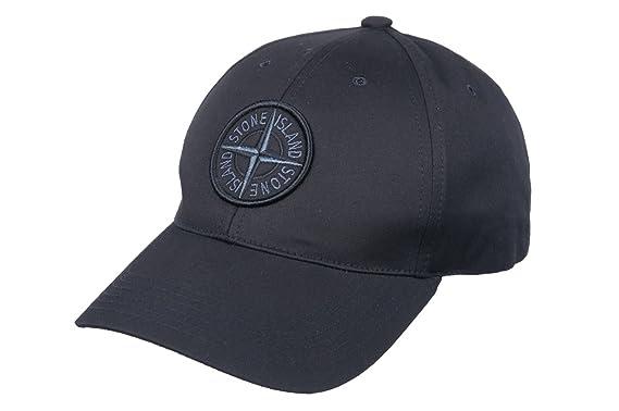 Stone Island - Gorra de béisbol - para Hombre Negro Negro Talla ...