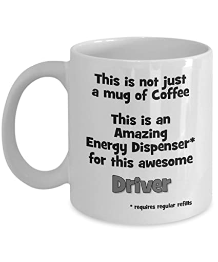 Amazon Funny Driver Coffee Mug